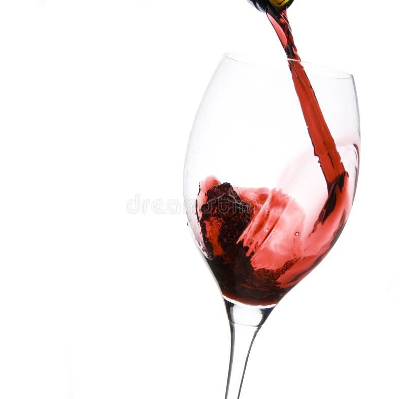 szklany restauracyjny wino obraz royalty free