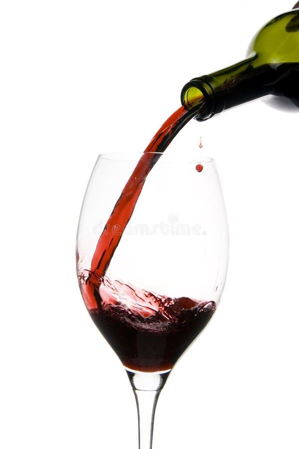 szklany restauracyjny wino obrazy stock