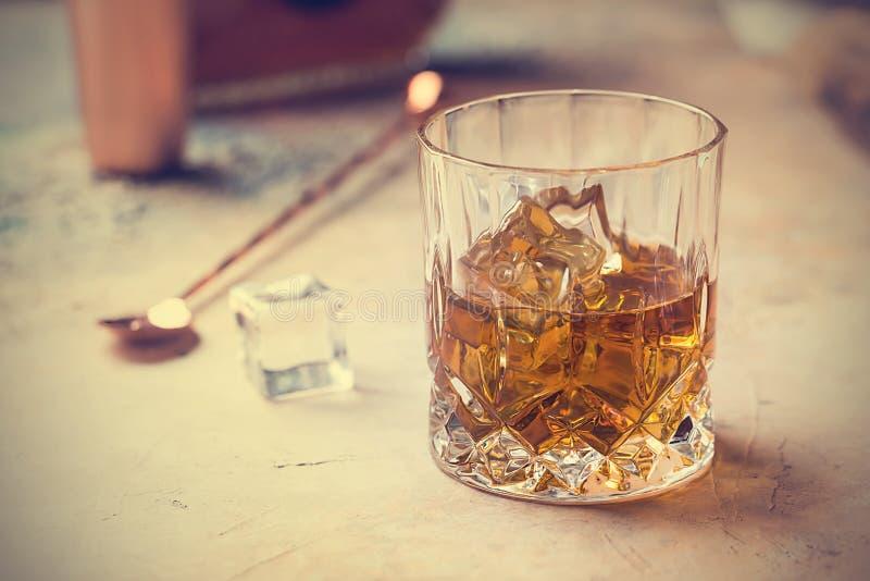 szklany whisky zdjęcia stock