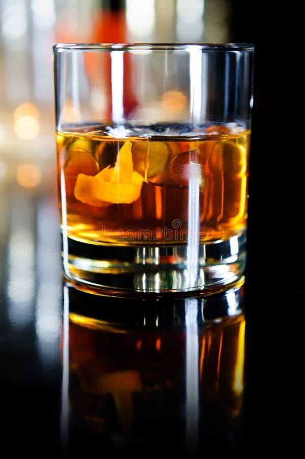 szklany whisky zdjęcie stock