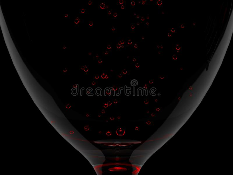 Szklany wino