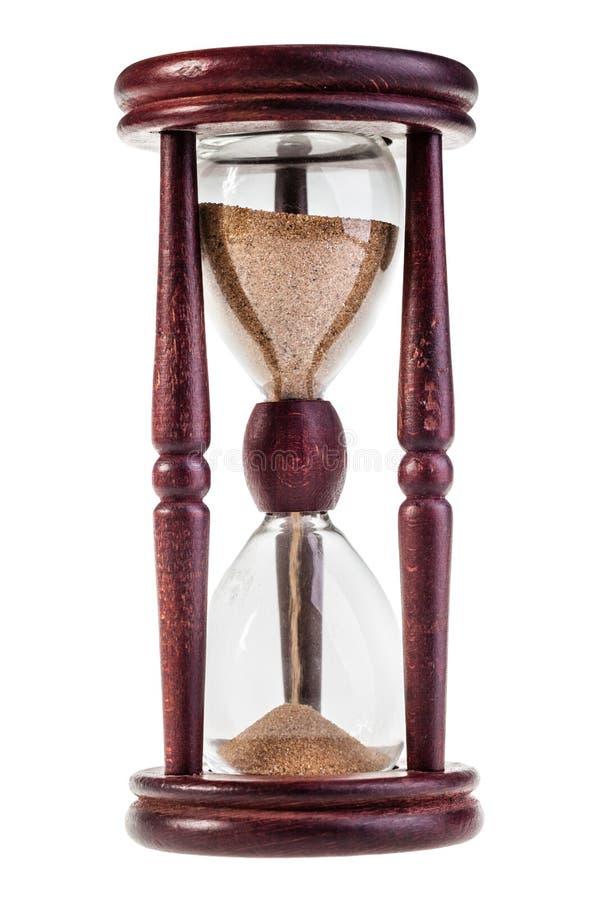 Szklany zegarek zdjęcia stock