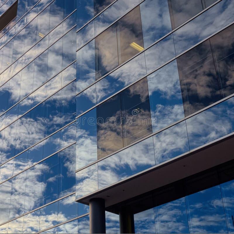 Szklisty niebo zdjęcia royalty free