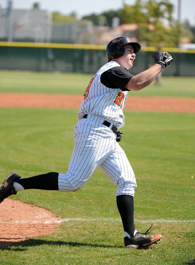Szkoła Średnia baseball zdjęcie stock