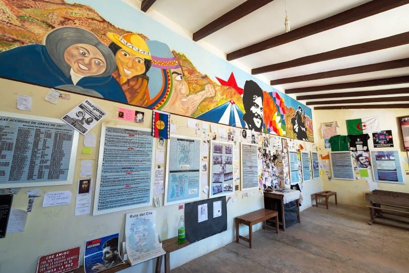 Szkoła dokąd Che Guevara Wykonywał zdjęcie stock