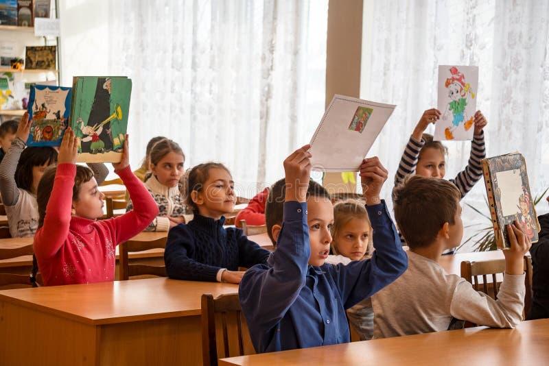 Szkoła dzieciaki szkoła podstawowa zdjęcie stock