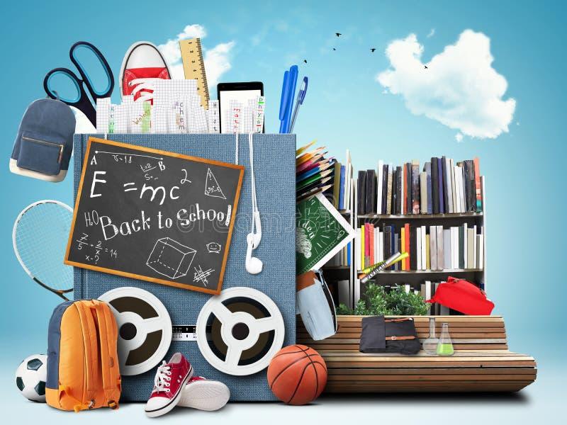 Szkoła, edukacja royalty ilustracja