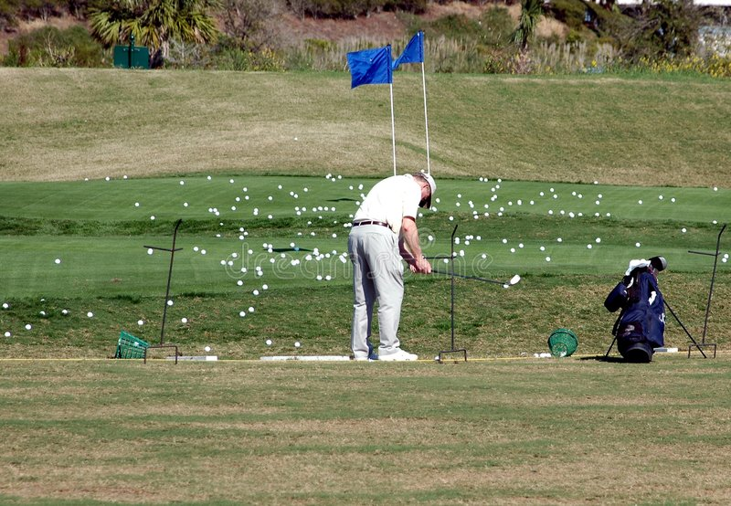 szkoła golfowa fotografia royalty free