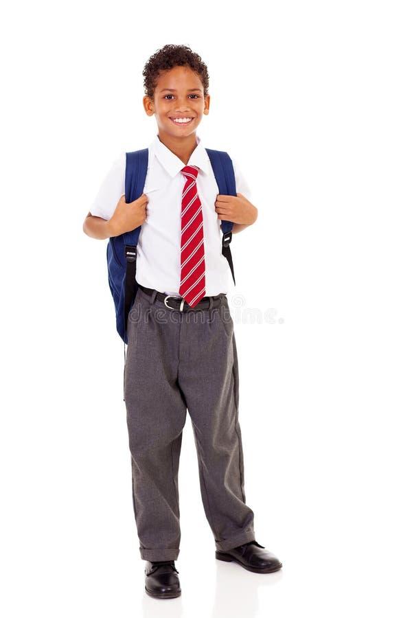 Szkoła podstawowa uczeń zdjęcia stock