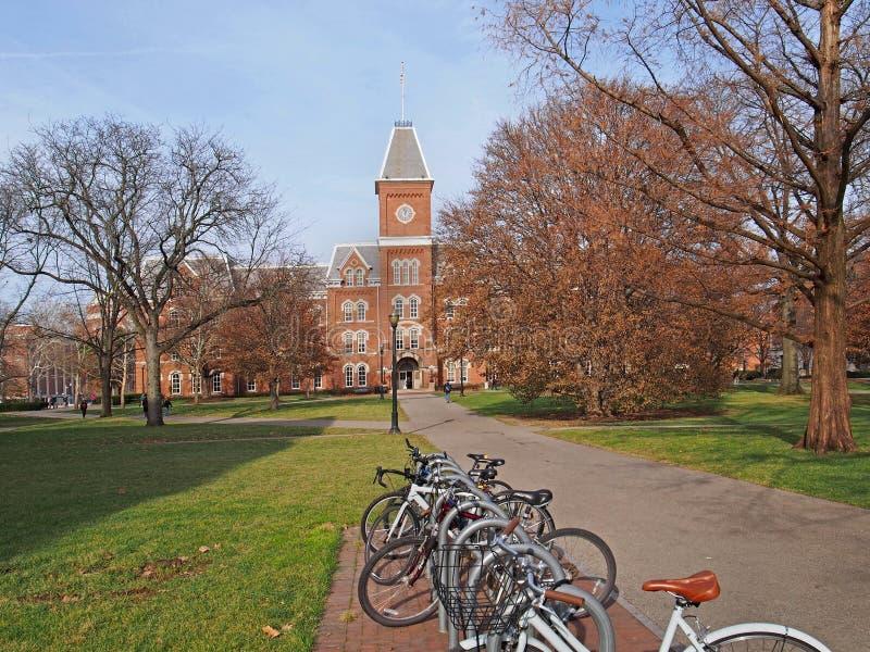 Szkoła wyższa kampus zdjęcie royalty free