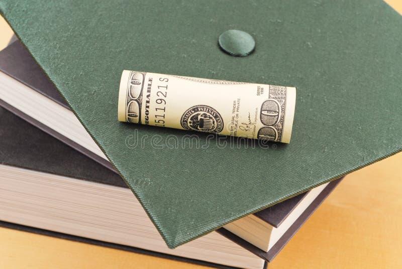 szkoła wyższa pieniądze obraz stock