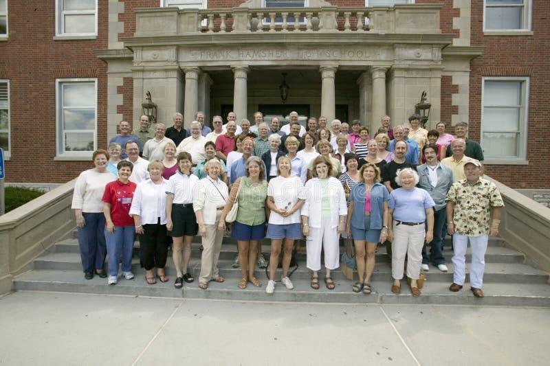 Szkoły Średniej spotkania 40th rocznica, zdjęcie royalty free
