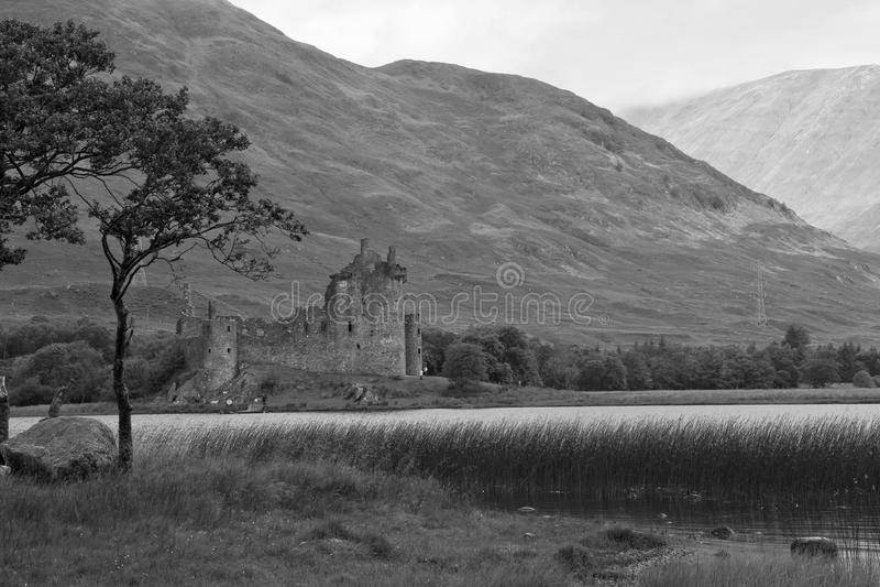 Szkocja, Kilchurn kasztel zdjęcie royalty free