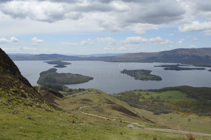 Szkocja krajobraz zdjęcie royalty free