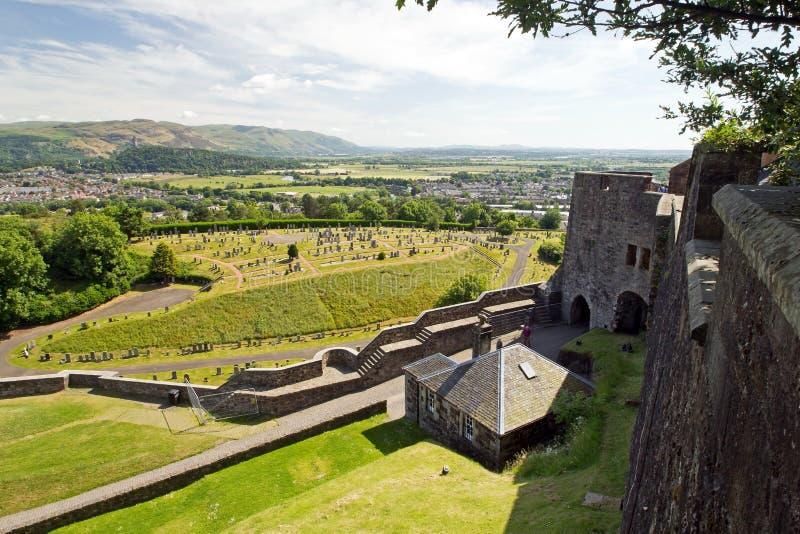 Szkocja, Stirling kasztel zdjęcie stock