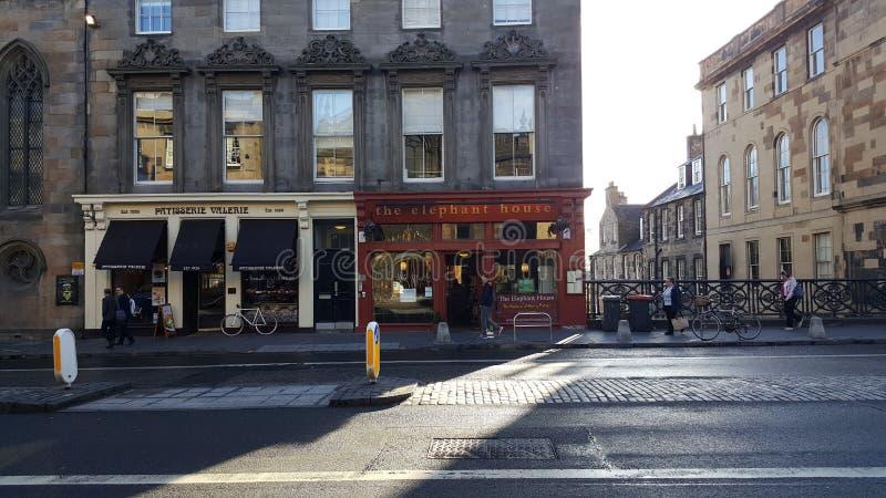 Szkocja uk Edinburgh Glasgow obrazy stock