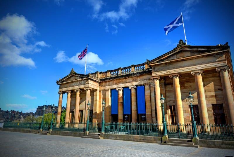 Szkocka Krajowa Galeria zdjęcia royalty free