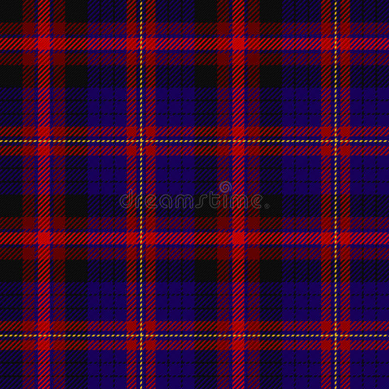 szkocka krata deseniowy tartan royalty ilustracja