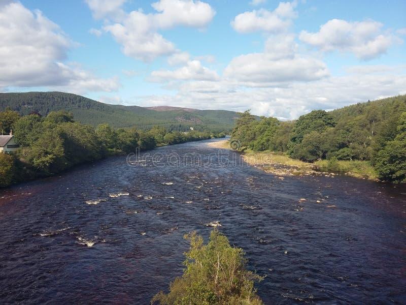 Szkocka rzeka fotografia stock