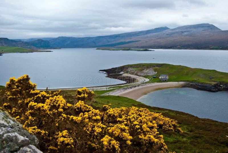Szkocka sceneria obraz royalty free