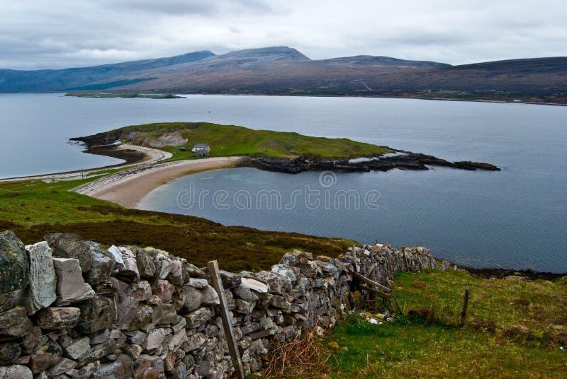 Szkocka sceneria obrazy royalty free