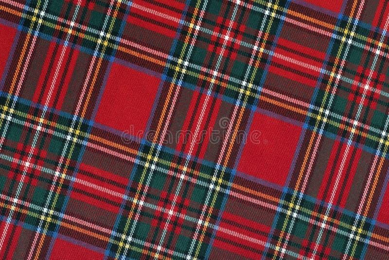 Szkocka tkanka, połogie linie, wysoka rozdzielczość obraz royalty free