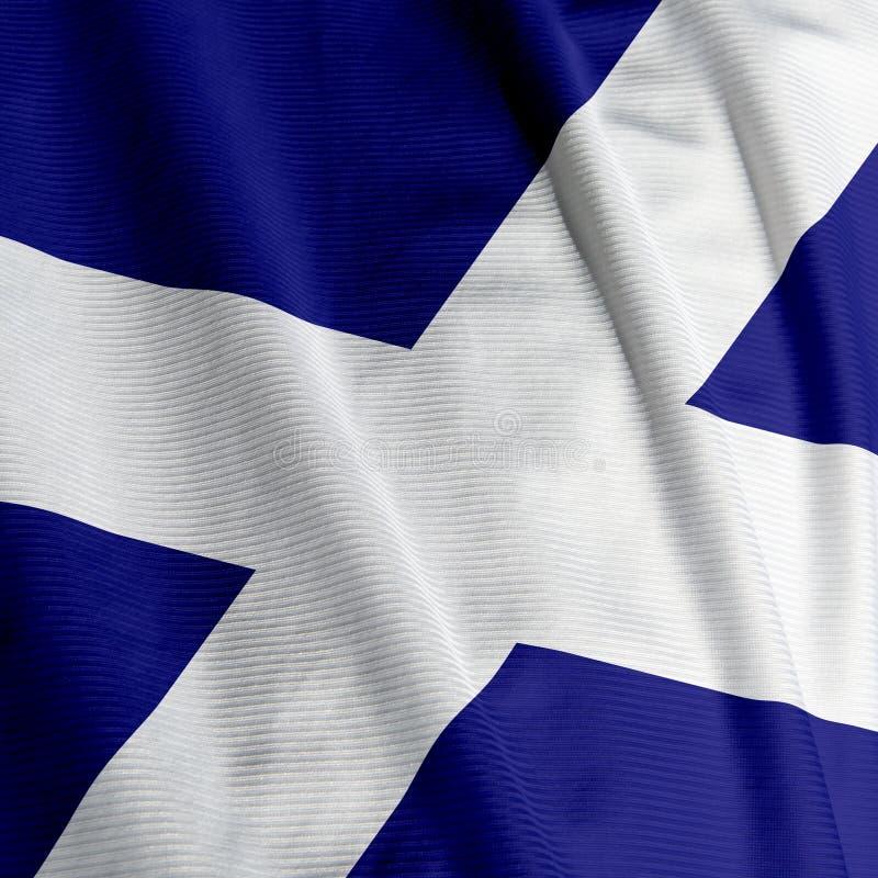 szkocka zbliżenia bandery zdjęcia royalty free
