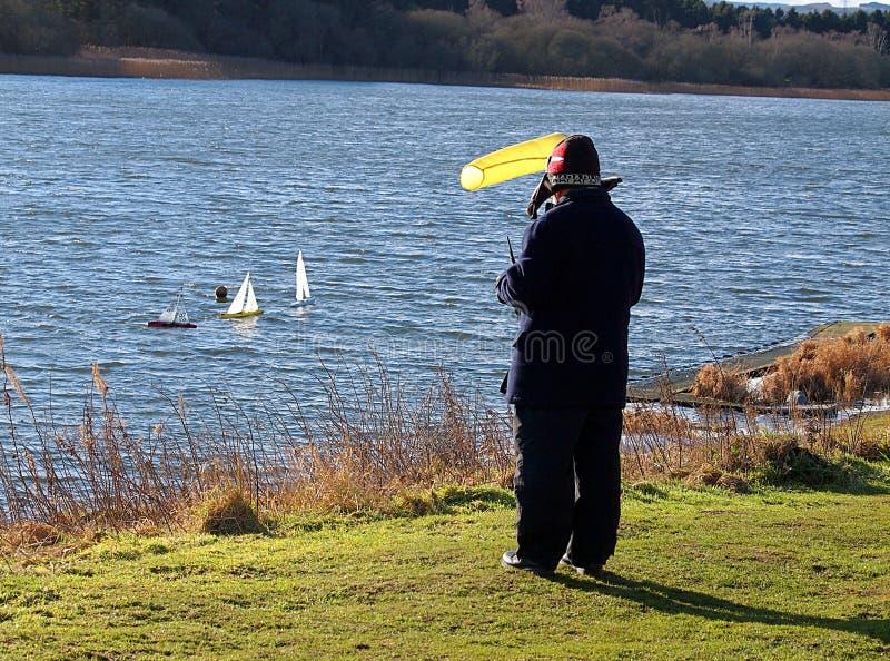 Szkocki żeglarz zdjęcia stock