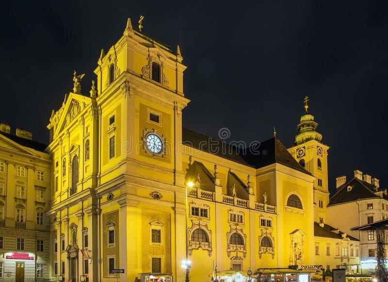 Szkocki opactwo, Wiedeń zdjęcia stock