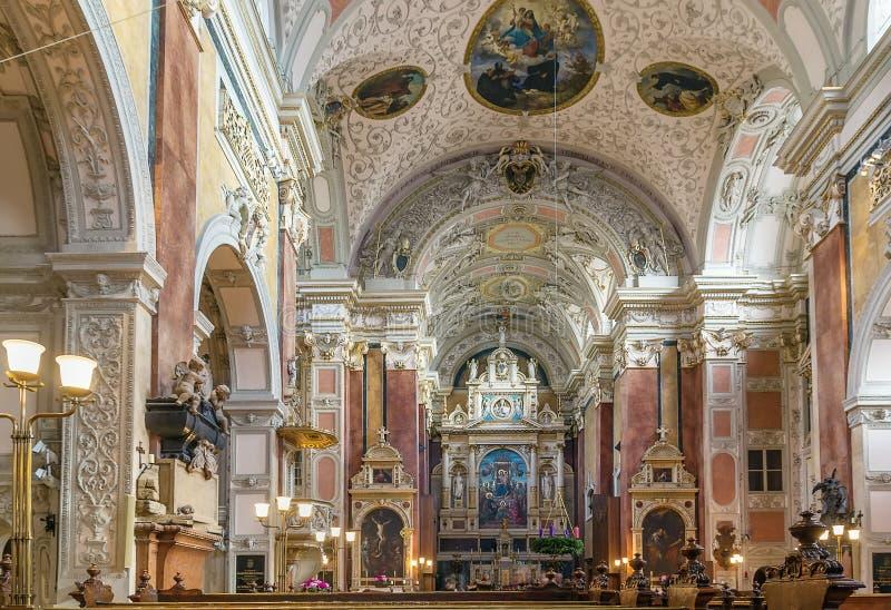 Szkocki opactwo, Wiedeń fotografia royalty free