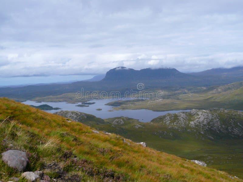 Szkocki widok zdjęcia royalty free