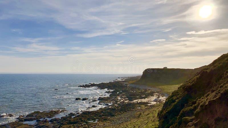 Szkocki wybrzeże zdjęcie stock