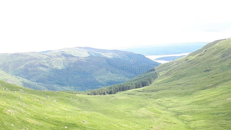Szkockie góry obraz royalty free