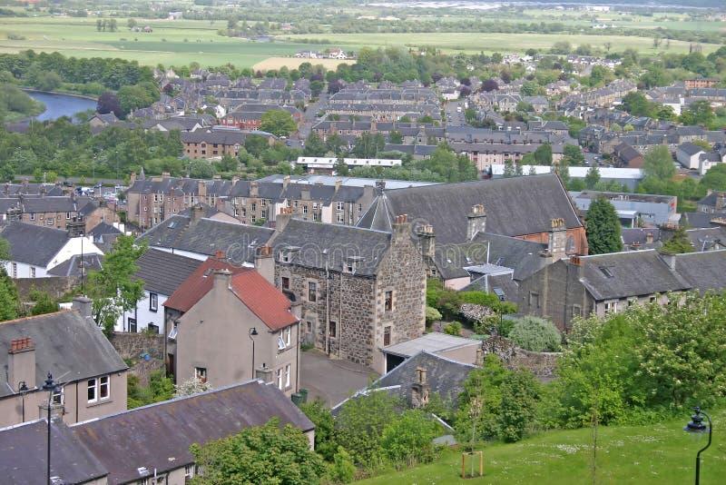 szkockie miasto obrazy stock
