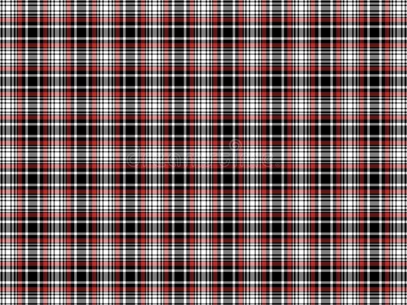 Szkockiej kraty tło zdjęcia stock
