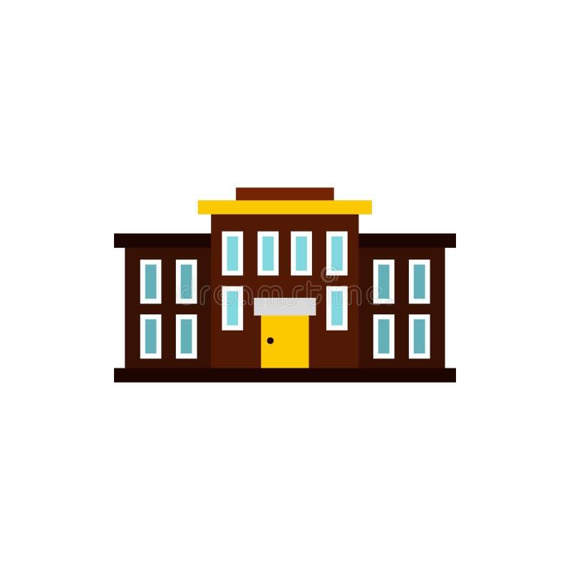 Szkolna ikona, mieszkanie styl royalty ilustracja