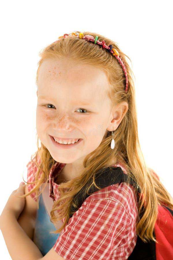 szkolni dziewczyn potomstwa fotografia royalty free