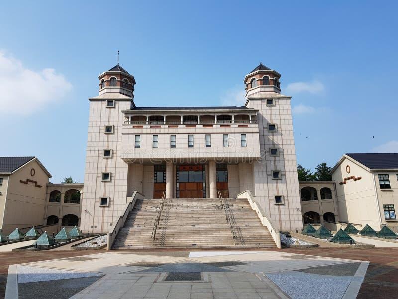Szkolny audytorium w Tainan, Tajwan obraz stock