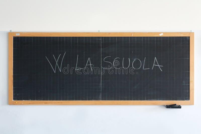 Szkolny blackboard obraz stock