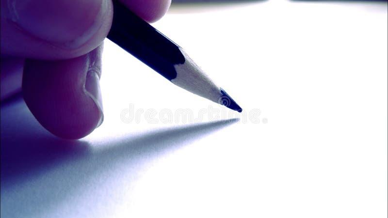 Szkolny ołówek fotografia stock