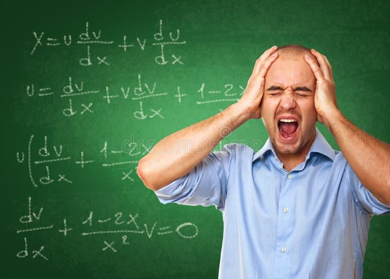 szkolny stres obrazy stock
