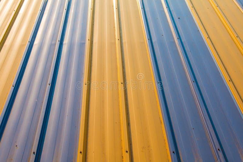 Szkotowy metal dla budynek budowy i przemysłu fotografia royalty free