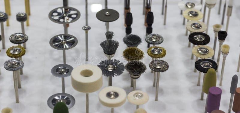 Szlifierski i polerowniczy stali narzędzie obrazy stock