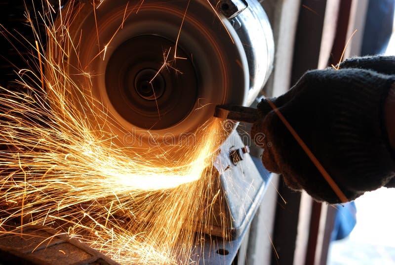 szlifierski locksmith fotografia stock