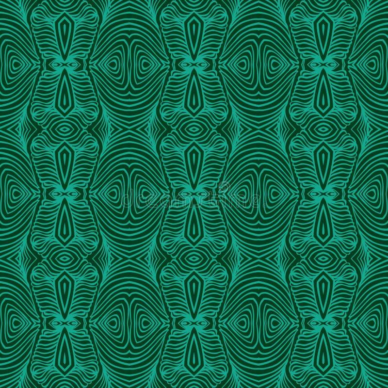 Szmaragdowa zieleń, wektorowa malachitowa tekstura ilustracja wektor