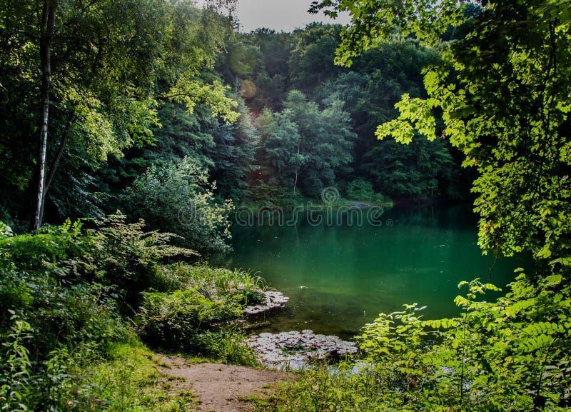 Szmaragdowe Lake stock images