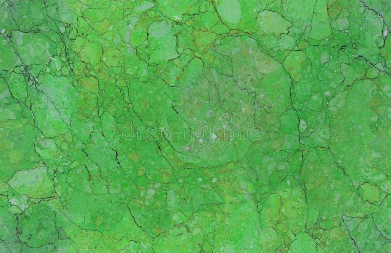 Szmaragdowej zieleni marmuru kamienia tekstury wzoru naturalny bezszwowy tło Szorstka naturalna kamienna bezszwowa marmurowa teks obrazy stock