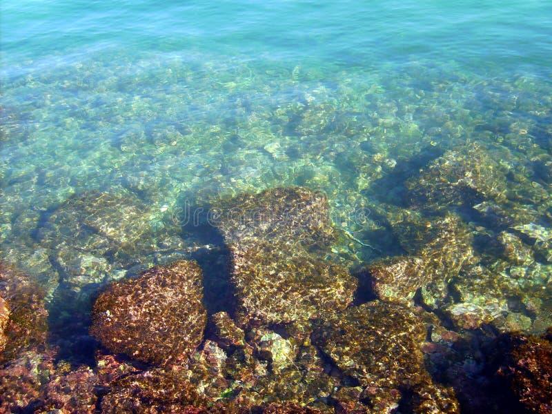 Szmaragdowy morze obrazy stock