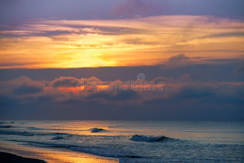 Szmaragdowy wyspa ranek zdjęcia stock