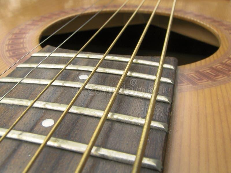 sznur gitary stali zdjęcie royalty free
